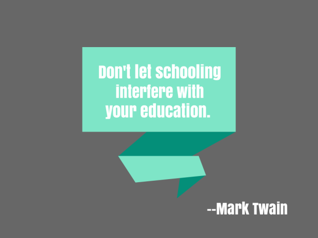 Mark Twain Edu Quote