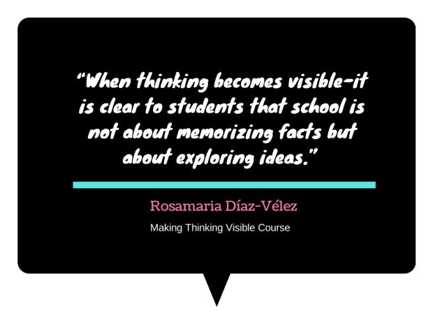 Visible Thinking Quote