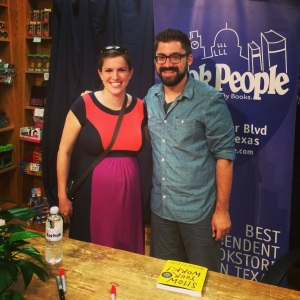 Austin Kleon at Book People