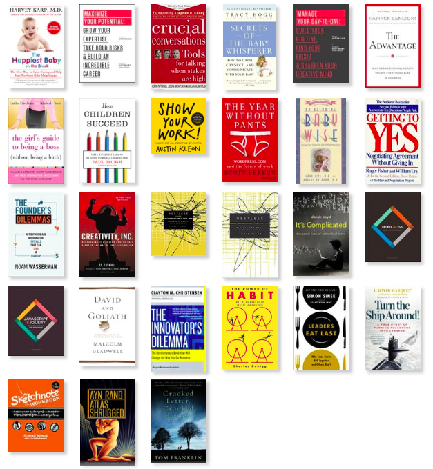 A Year in Books from Good Reads
