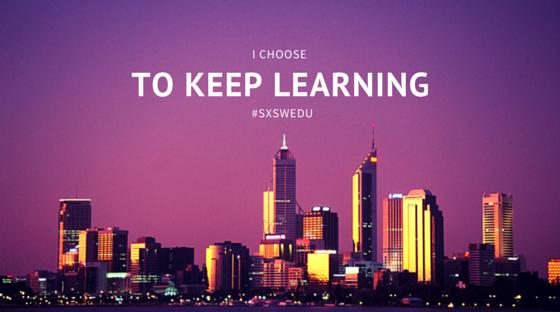 I choose to keep learning