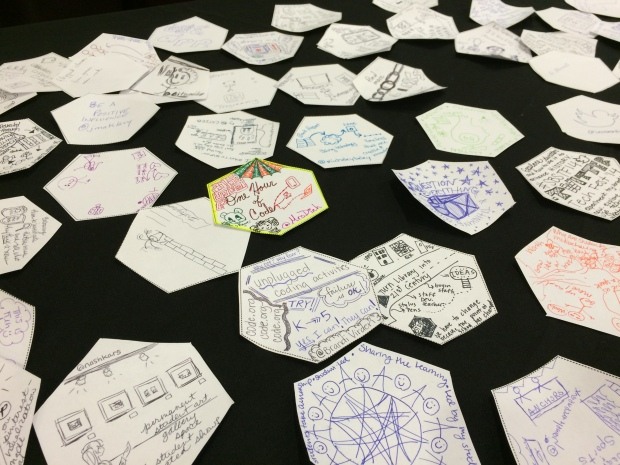 Hexagonal Thinking & Sketchnoting During Keynote Session