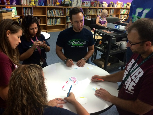 Hexagonal Thinking in action during Professional Learning