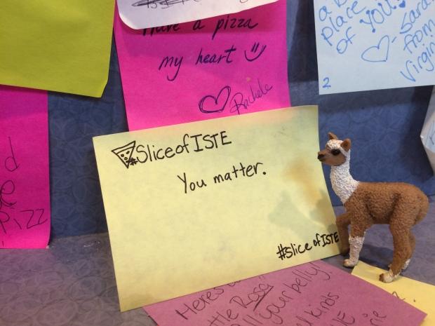 SliceofISTE You Matter